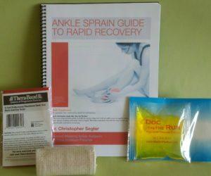 Ankle Sprain Self Treatment Kit