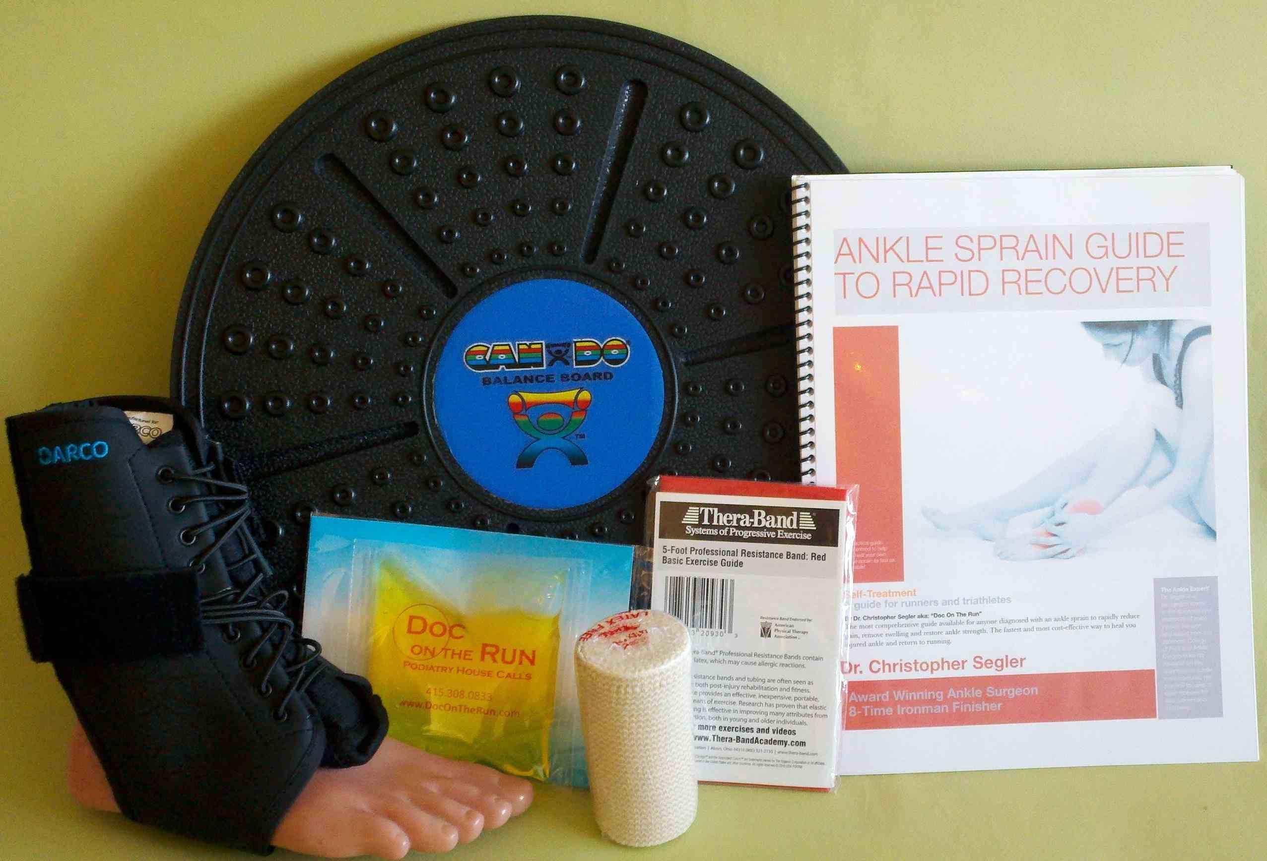 Ankle Sprain First Aid Grade 1 Self-Treatment Kit
