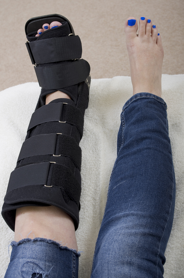 Fracture walking boot: one of the worst treatments for a