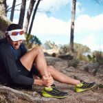 sprain your ankle on a trail run