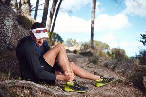 sprain your ankle on a trail run